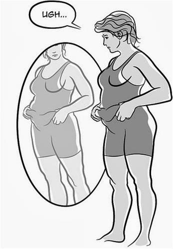 Ole sinut vartalosi kanssa